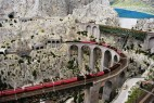 Miniatur Wunderland: Eisenbahnstrecke